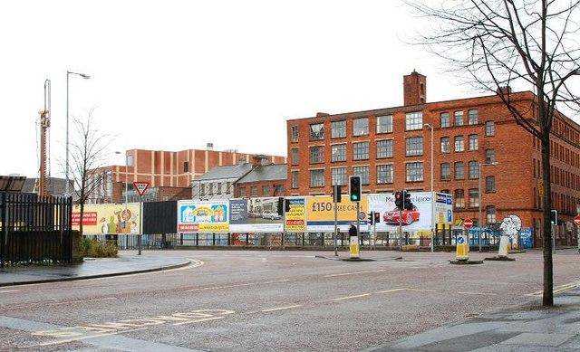 College Street development site, Belfast (1)