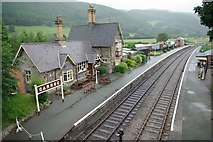 SJ1143 : Carrog Railway Station by john salter