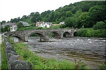 SJ1143 : Bridge at Carrog. by john salter