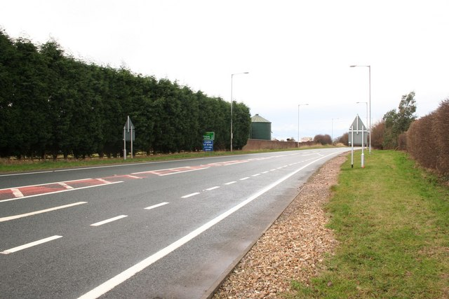A57 at Newton-on-Trent