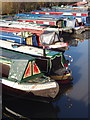 TQ0492 : Marina at confluence of River Colne and Grand Union Canal by David Hawgood
