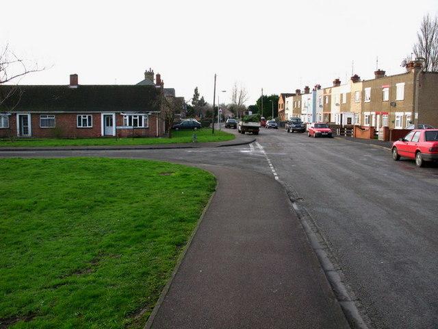 Elliott Road, Junction of Oak Tree Close