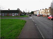 TL4197 : Elliott Road, Junction of Oak Tree Close by dennis smith