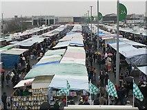 TQ1985 : Wembley: Sunday market by Chris Downer