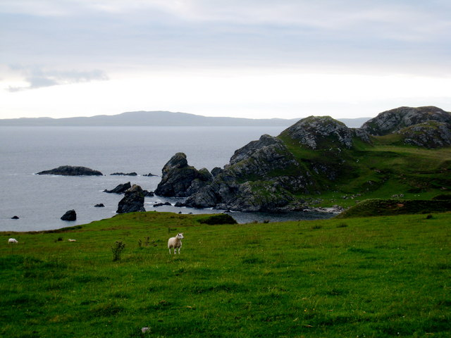 Coast West of Lower Killeyan