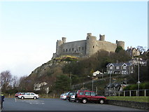 SH5831 : Harlech Castle by Doug Elliot
