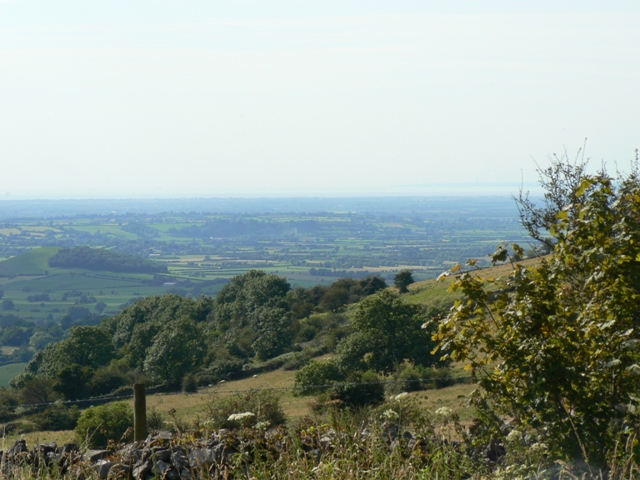 View from Mendips near Priddy looking West