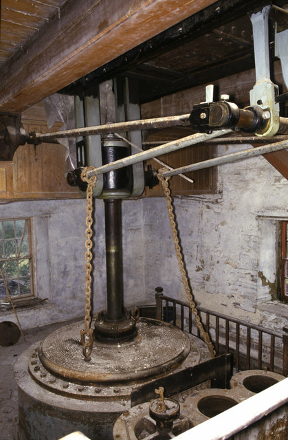 Dorothea beam engine - middle chamber