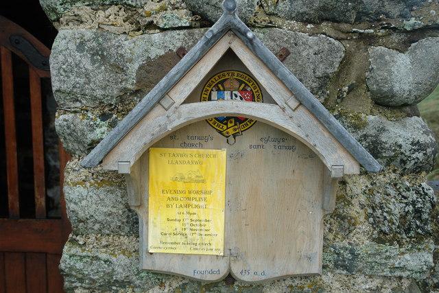Llandanwg Church
