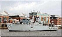 J3474 : Naval visit, Belfast (1) by Albert Bridge