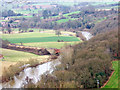 SO7679 : River Severn & Victoria Bridge seen from Seckley Viewpoint by P L Chadwick