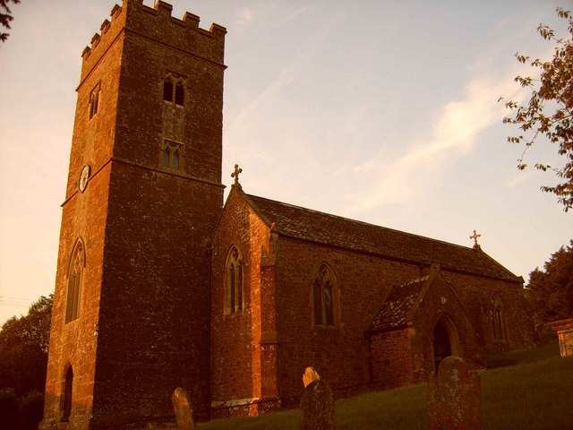 St Mary's Church at Sunset