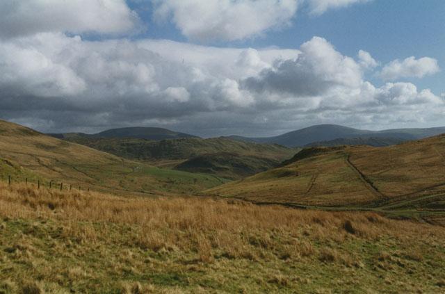 Hillside above Hafotty Gwastadfryn