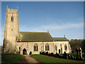 TG1111 : St Andrew's Church in Honingham by Evelyn Simak