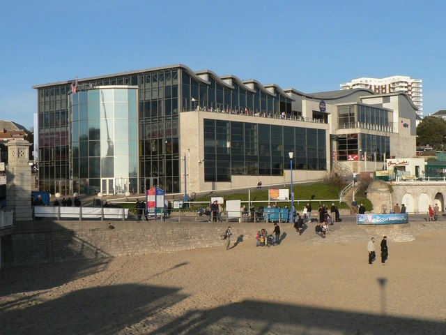 Bournemouth: the Waterfront building