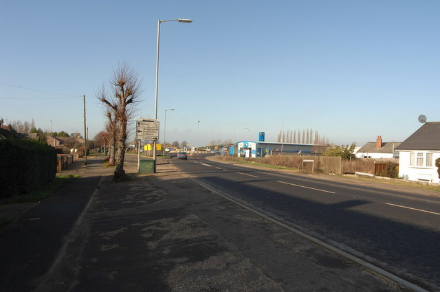 Roundabout on Wisbech Road, Leading to Peas Hill