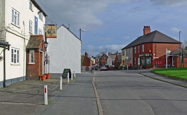 Main Street of Higham on the Hill