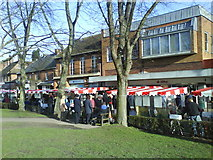 TL1314 : Farmers Market  Harpenden by Gary Fellows