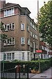 TQ2672 : Block of Flats in Burntwood Lane, SW17 by Christine Matthews