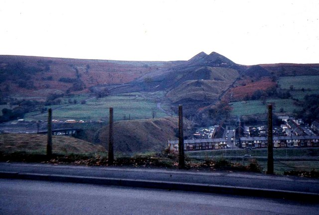 Aberfan and old coal tips