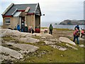 B8447 : Derek Hill's hut on Toraig by Kay Atherton