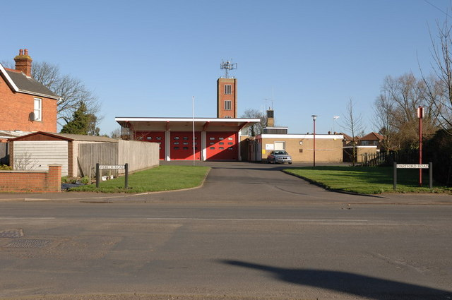 March Fire Station on Dartford Road