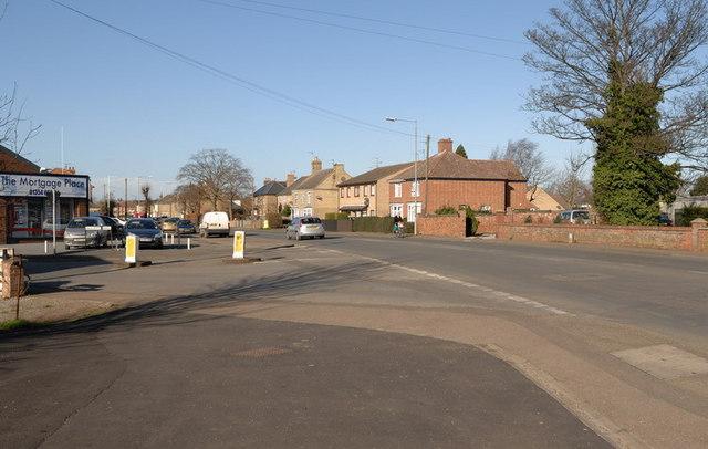 Wisbech Road, Junction with Elliott Road