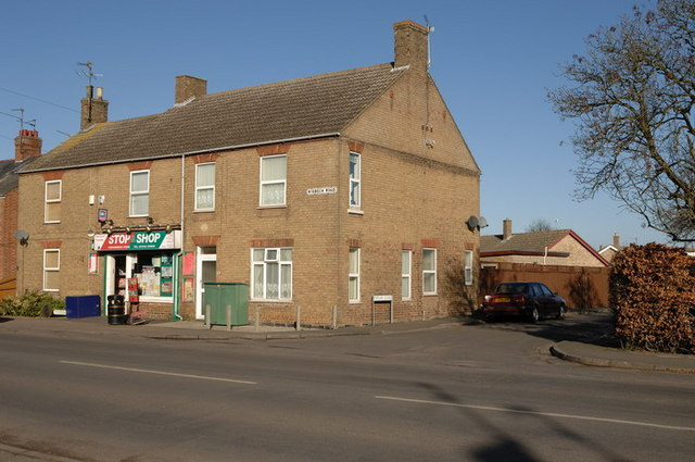Local Shop on the corners of Wisbech Road and Poplar Close