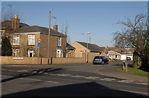 TL4097 : Entrance to Nursery Drive, off Wisbech Road by dennis smith