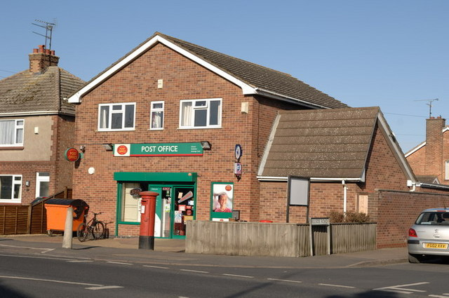 Post Office on the corners of Wisbech Road and Hillside Road
