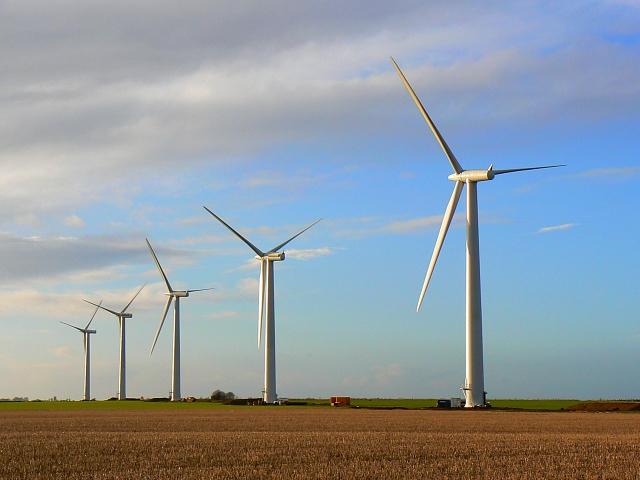 Westmill wind farm, Watchfield 1st February 2008