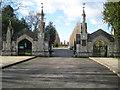 TQ2367 : Morden: Battersea New Cemetery by Nigel Cox