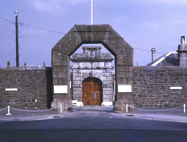 Dartmoor Prison front door