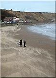TA1280 : Windy day at Filey by David Pickersgill