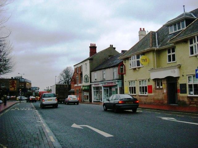 Ripley Town Centre - High Street