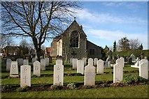TF0349 : St.Andrew's churchyard by Richard Croft