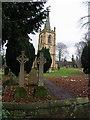 NZ5316 : St Cuthberts churchyard by Stephen McCulloch
