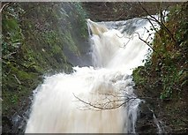 J3996 : Glenoe waterfall (27) by Albert Bridge