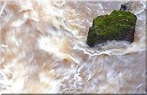 J3996 : Above Glenoe waterfall (5) by Albert Bridge