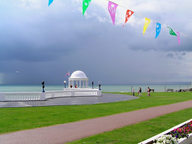 Before the Storm at Bexhill seafront