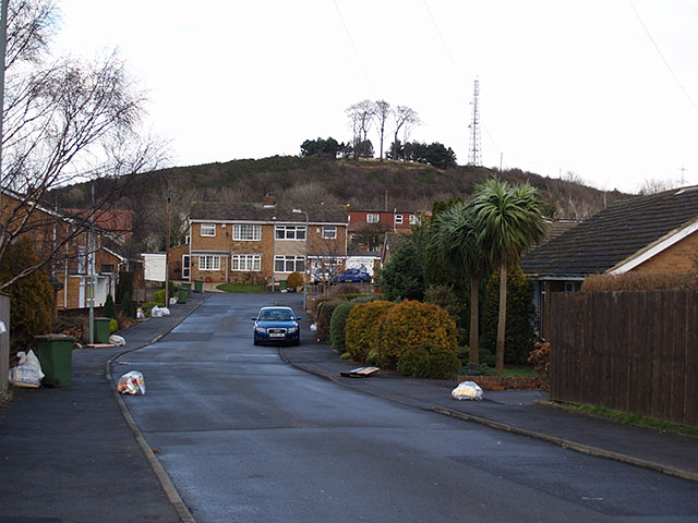 View along Southlands Drive