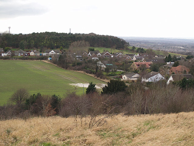 View from Godfalter Hill viewpoint