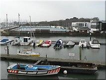 SZ3394 : Lymingon: Lymington Town Sailing Club by Chris Downer
