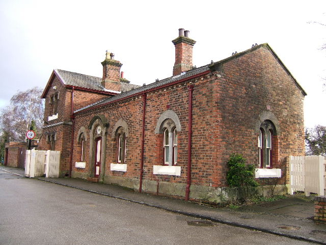 Hadlow Road Station, from the front