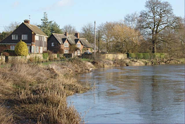 Riverside houses, Barrow upon Trent