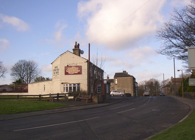 The Stafford Arms, Scholes Lane (B6120), Scholes