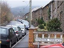 SO0103 : Windsor Terrace, Abernant, near Aberdare by Darren W Rees