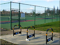 TQ3187 : Finsbury Park Tennis Courts by Stephen McKay