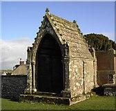 NX6248 : Mausoleum by Colin Kinnear