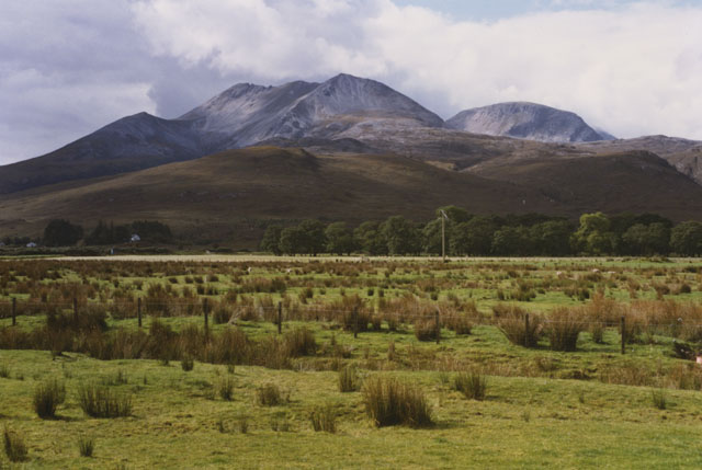 Field near Culaneilan farm, Incheril